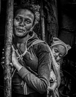 Ethiopian Mother and Child © Mary Kirkby - HC