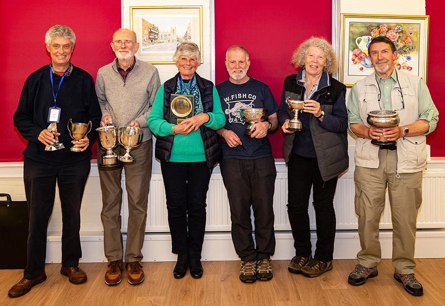 Trophy Winners 2019 © David P Howard