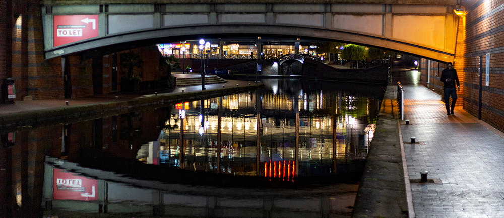 Brindley Place Reflections © David P Howard