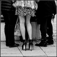 Fishnets and Stilettos © Michael Robertson-Smith