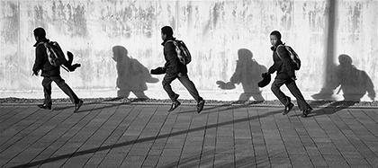 The School Run © Stewart Band