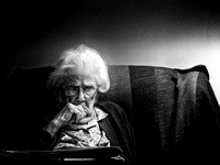 Lonliness of old age © Dick Prior 1st