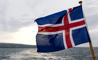 Icelandic Flag © David P Howard